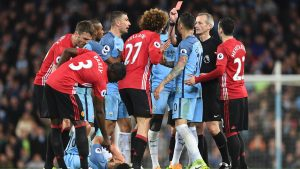 Manchester City-Manchester United Premier Legaue