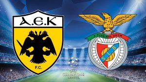 Champions League AEK Athens vs Benfica