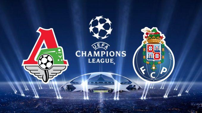 Champions League Lokomotiv Moscow vs FC Porto 24/10/2018