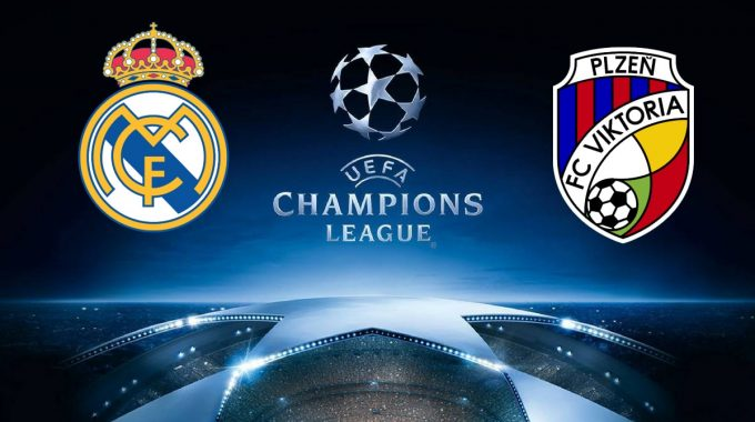 Real Madrid vs Viktoria Plzen Champions League 23/10/2018