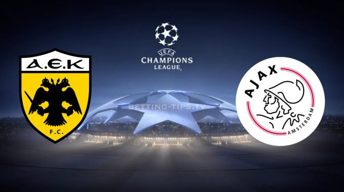 AEK Athens vs Ajax  Champions League 27/11/2018
