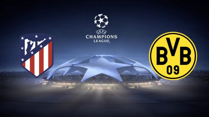 Champions League Atlético Madrid vs Borussia Dortmund 6/11/2018