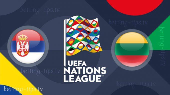 Serbia vs Lithuania UEFA Nations League 20/11/2018