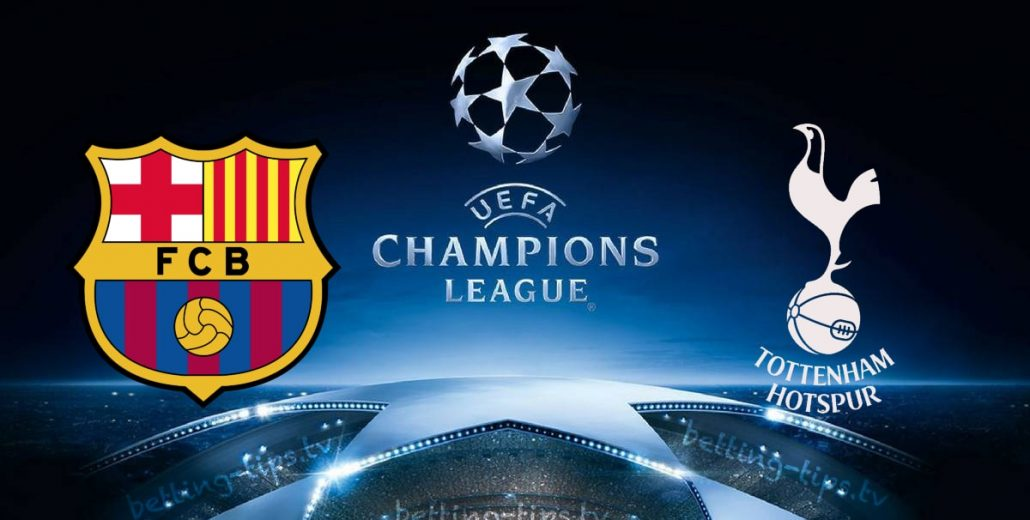 Champions League Barcelona vs Tottenham 11/12/2018