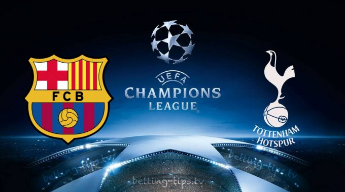 Champions League Barcelona vs Tottenham 11/12/2018