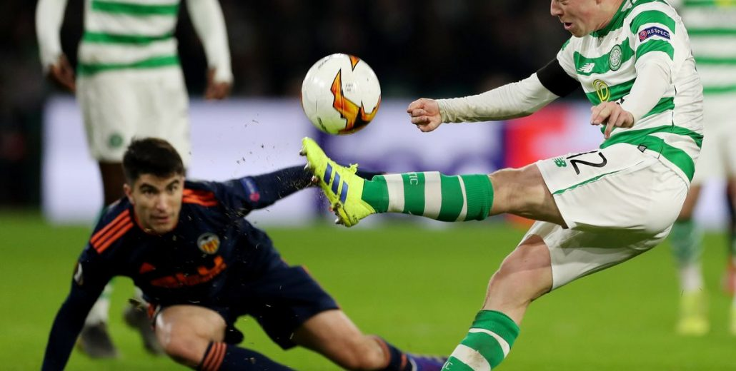 Valencia vs Celtic Glasgow Betting Tips 21/02/2019